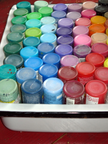 The paints have found a new home